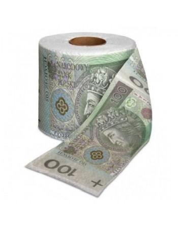 Papier toaletowy 100 zł XL