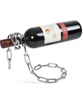 Łańcuchowy stojak na wino