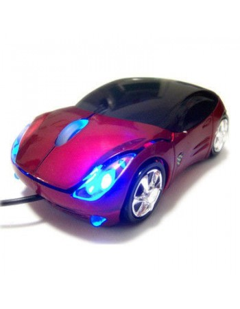 Myszka supercar - czerwona lub srebrna