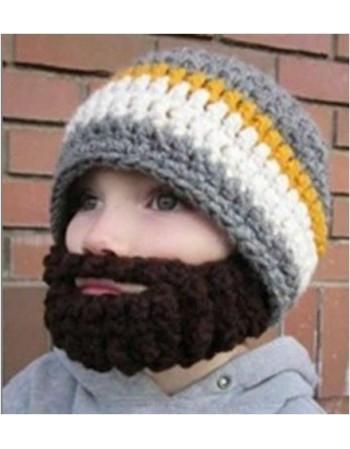Czapka z brodą dla dzieci
