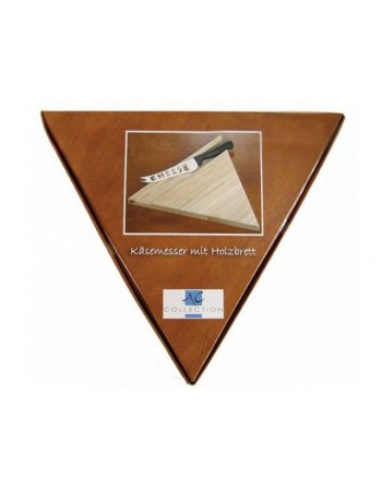 Deska do sera trójkątna + nóż