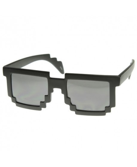 Pikselowe okulary 8 bit pixel (różne kolory)