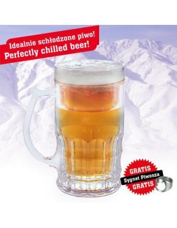 Lodowy kufel chiller 400 ml - classic lub złocisty
