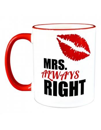 Kubek dla kobiety - Mrs. Right
