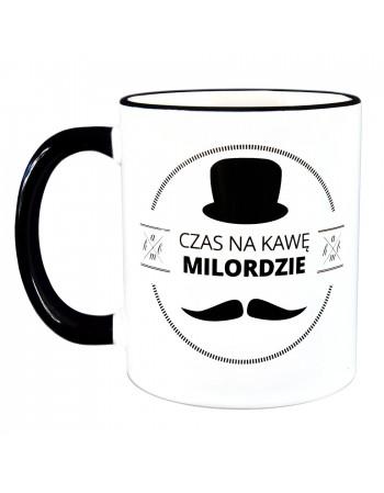 Kubek Czas na kawę Milordzie - RETRO
