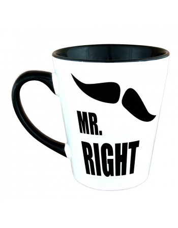 Kubek Latte MR. RIGHT