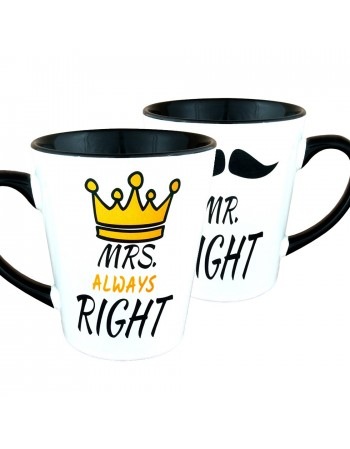MR. Right i MRS. Always Right - zestaw Latte