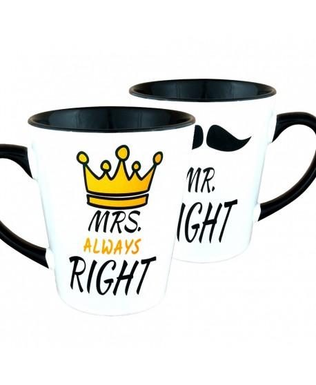 MR. Right i MRS. Always Right - zestaw Latte