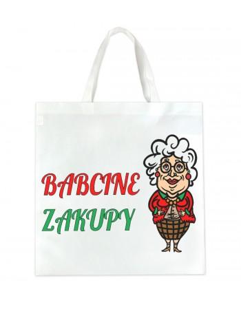 EKO Torba zakupowa Babcine Zakupyy