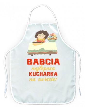Fartuszek kuchenny Babcia Najlepsza Kucharka na świecie