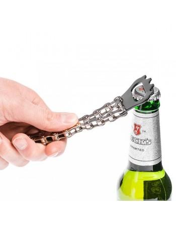 Łańcuchowy otwieracz do butelek