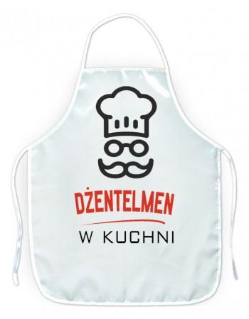 Fartuszek kuchenny Dżentelmen w kuchni