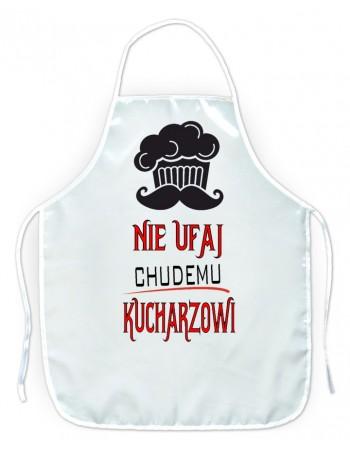 Fartuszek kuchenny Nie ufaj chudemu Kucharzowi