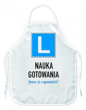 Fartuszek kuchenny Nauka gotowania L