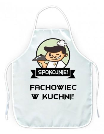 Fartuszek kuchenny Spokojnie! Fachowiec w kuchni