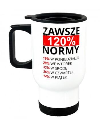 Kubek Termiczny Przodownika Pracy - 120% Normy