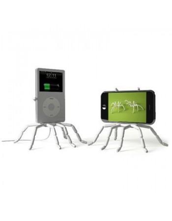 Uchwyt pająk na telefon (biały lub czarny)