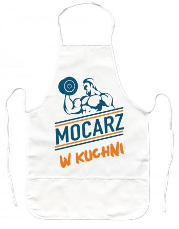 Gruby Fartuch Kuchenny - MOCARZ w Kuchni