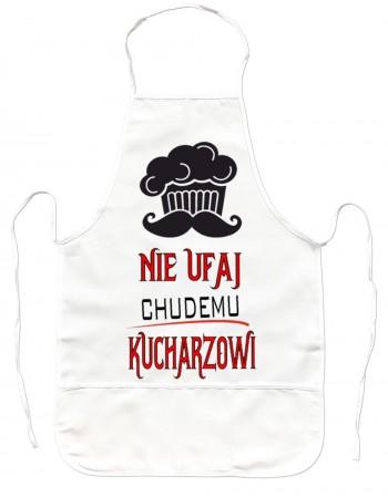 Gruby Fartuch Kuchenny - Nie Ufaj Chudemu Kucharzowi