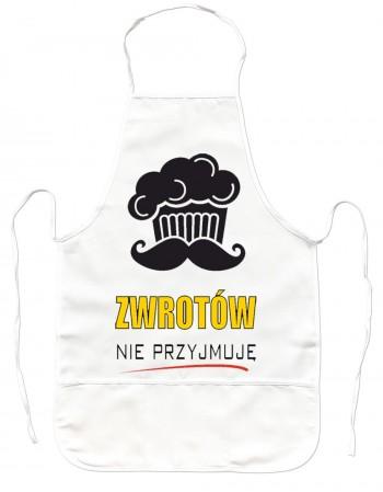 Gruby Fartuch Kuchenny - Zwrotów nie przyjmuję!