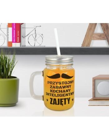 Słoiczek Mason Jar dla Chłopaka - ZAJĘTY