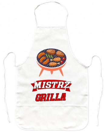 Gruby Fartuch Kuchenny Mistrz Grilla
