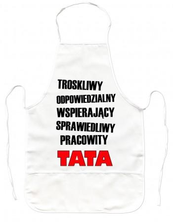 Gruby Fartuch Kuchenny dla Taty