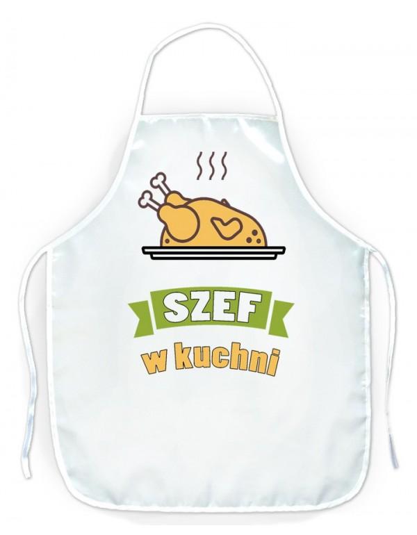Fartuszek kuchenny Szef w Kuchni - prezent