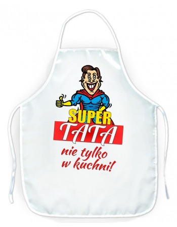 Fartuszek kuchenny prezent dla Taty - Super Tata
