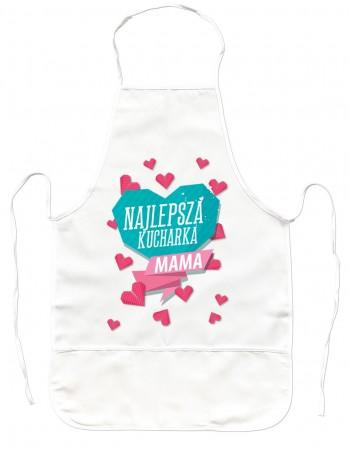 GrubyFartuch Kuchenny prezent dla Mamy - Najlepsza Kucharka