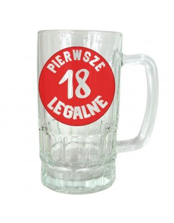 Kufel na 18stkę - Pierwsze Legalne
