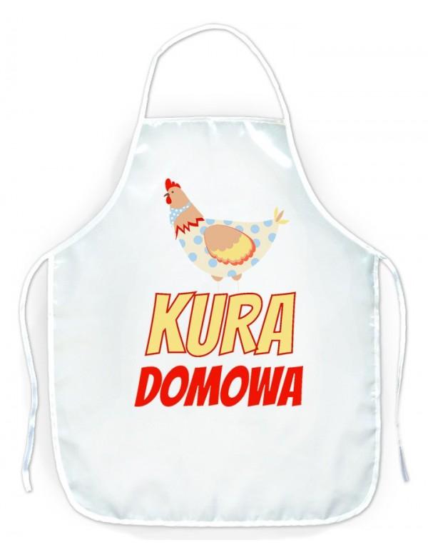 Fartuszek kuchenny dla Niej - Kura Domowa