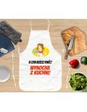 Gruby Fartuch Kuchenny, śmieszny - Wynocha z Kuchni!
