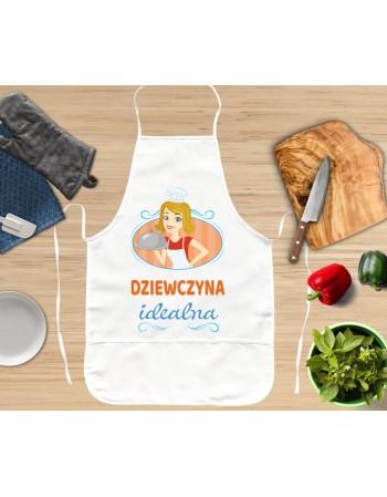 Grube fartuchy kuchenne Dziewczyna Idealna, Facet Idealny