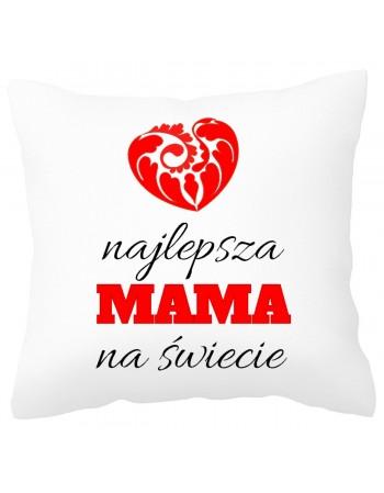 Poduszka na prezent dla Mamy - Najlepsza Mama na Świecie
