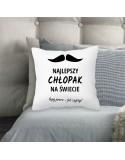 Poduszka dla Chłopaka - Najlepszy Chłopak - Dzień Chłopaka