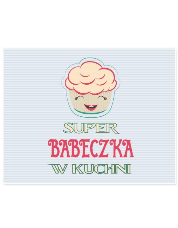 Deska do krojenia Super Babeczka - prezent dla Niej