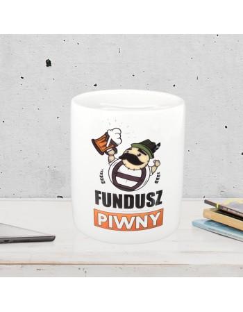 Skarbonka Fundusz Piwny - prezent dla Niego