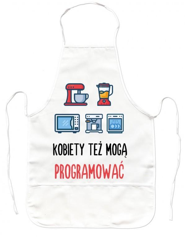 Fartuch Kuchenny - Kobiety też mogą programować
