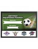 Certyfikat dla Piłkarza na prezent